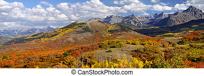Dallas divide near San Juan mountains in Colorado