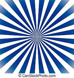 Starburst, sunburst background Circular monochrome pattern...