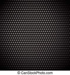 Carbon fiber industrial background with repeatable geometry...