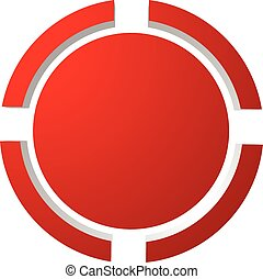 Target mark, reticle, crosshair icon for focus, accuracy,...