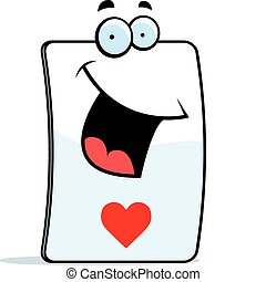 Heart Card Smiling