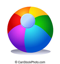 Colorful Beach Ball