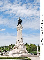 Marques do Pombal square in Lisbon - famous Marques do...