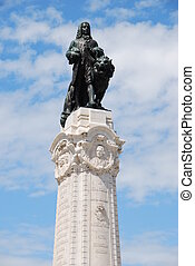 Marques do Pombal statue in Lisbon - famous Marques do...