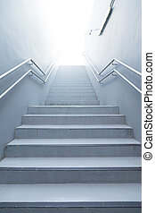 Walk up the stairs