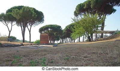 Roman road time lapse