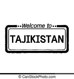 Welcome to TAJIKISTAN illustration design