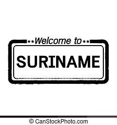 Welcome to SURINAME illustration design