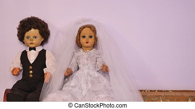 bride and groom dolls - bride and groom plastic dolls
