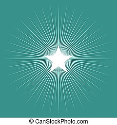 Star Burst - Simple graphic of star burst