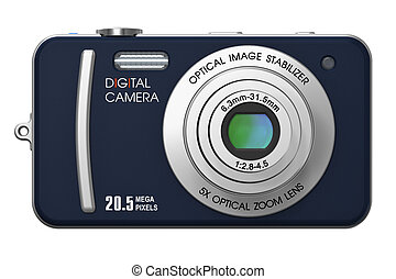 Compact digital camera - Creative abstract photography...
