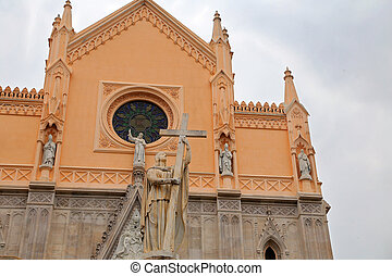 Saint Francesco Cathedral exterior Gaeta, Italy