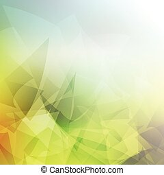 Abstract low poly background - Abstract background with a...