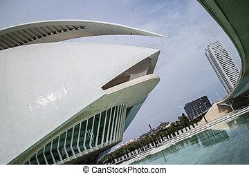 El Palau de les Arts Reina Sofia at the City of Arts and...