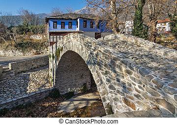 Moushteni near Kavala - Old house in village of Moushteni...