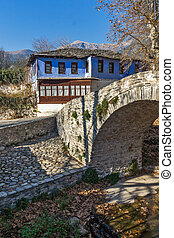 Moushteni near Kavala - Old house in village of Moushteni...