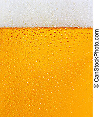 Dewy beer glass texture