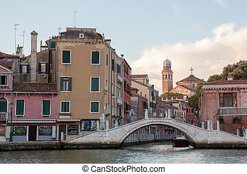 Grand Canal in Venice - Picture of Venice as popular tourist...