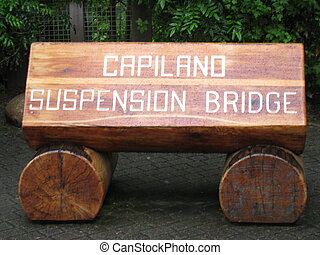 Around Capilano Suspension Bridge in Vancouver, Canada