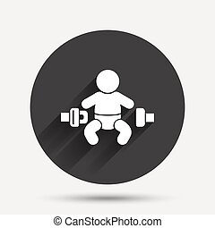 Fasten seat belt sign icon Safety accident - Fasten seat...