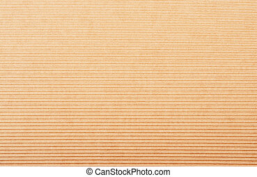 Crinkled cardboard background - Close up of beige crinkled...
