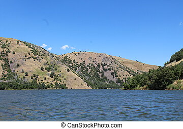 Idaho Mountains - Mountains along the Bear River