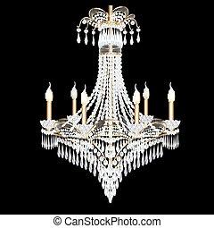 illustration of a modern chandelier