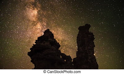 Mono Lake at Night Milky Way California Landscapes - Milky...