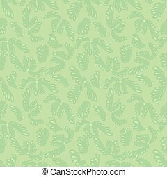 Green gentle seamless background for web site