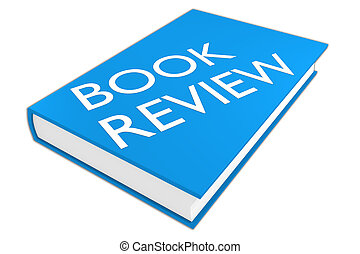 Book Review concept - 3D illustration of 'BOOK REVIEW'...
