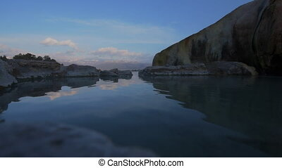 Sunrise Travertine Hot Springs Bridgeport California -...