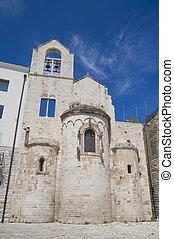 Knights Templar Church of Ognissanti Trani Apulia