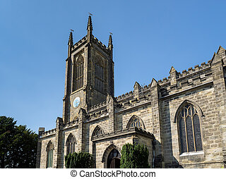 View of St Swithuns Church in East Grinstead