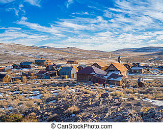 Bodie Ghost Town California State Park - Bodie Ghost Town...