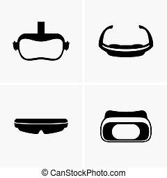 Virtual glasses, shade pictures