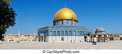Dome of the Rock. - Dome of the Rock on the Temple Mount in...