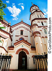 St Nicholas Church in Vilnius - one of the oldest examples...