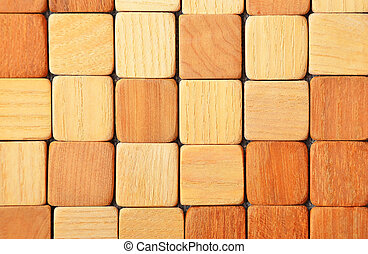 Wooden textured background - Shot of wooden textured...