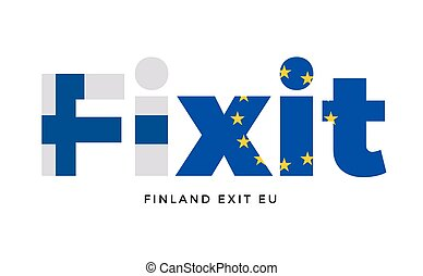 FINEXIT - Finland exit from European Union on Referendum....
