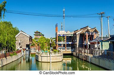 Nanchang River in Beijing, China