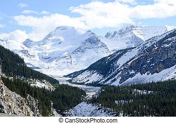 Athabasca Glacier, Canadian Rockies