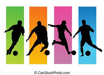 futebol, jogadores