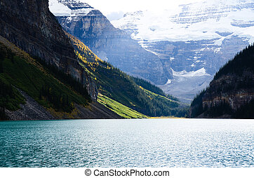 Lake Louise in Autumn, Canadian Rockies?