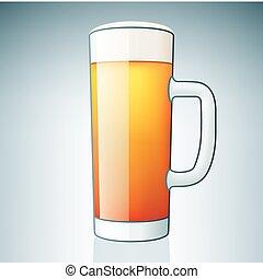 Light Beer Glass