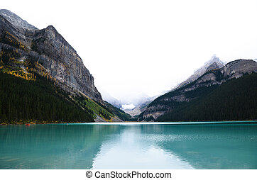 Lake Louise in Autumn, Canadian Rockies