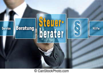 Steuerberater (in german Tax Consultant, Service, Help,...