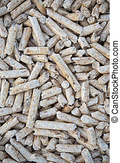 Biomass - Pellets biomass- renewable energy, stock photo,...