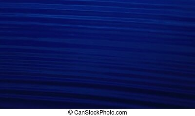 Sound waves in the visible blue color