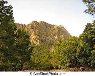 Serra de Tramuntana, Majorca - Somewhere in the Serra de...