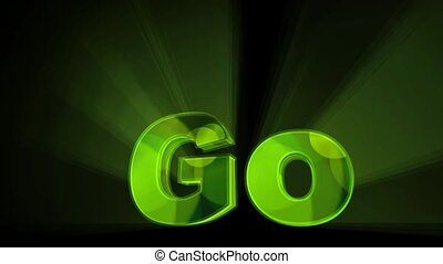 Green Go Animation - A motion graphic video animation clip...